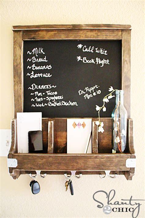 diy chalkboard holder diy chalkboard and key hooks shanty 2 chic