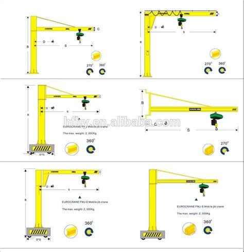 4 Meter Crane Jib Portal Jib Mini Jib Portable Artechno Diy european design mobile jib crane 1 ton 6m portable jib