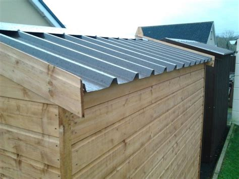 Tin Roofs For Sheds by All Our Sheds Come With A Non Drip Metal Roof As Standard