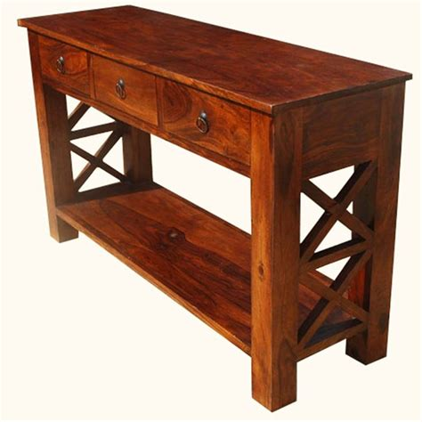 rustic solid wood 5 drawer traditional dining room buffet 61 best console and hall tables images on pinterest