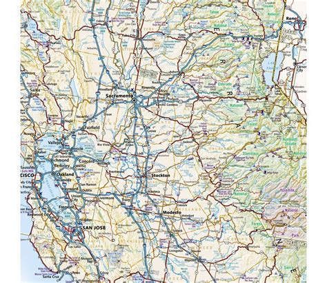 Pdf Benchmark California Road Map Maps benchmark california road map sportsman s warehouse