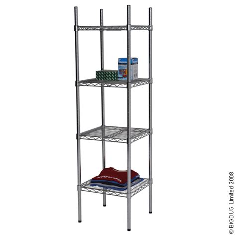 Chrome Bathroom Shelving Shelves Display Racking New Ebay Chrome Shelves Bathroom