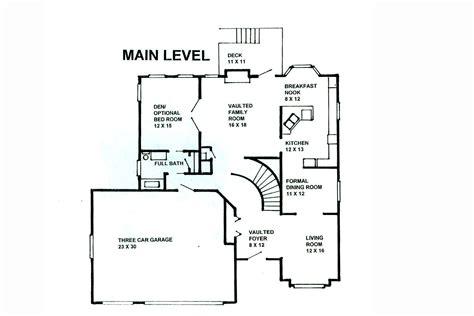 main level floor plans cs main level plan