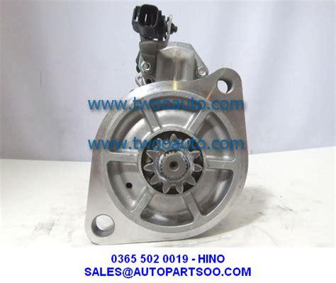 Garpu Bendix Stater Hino Ranger 03655020017 Hino Jo8c Ranger Starter Motor 0365 502 0017