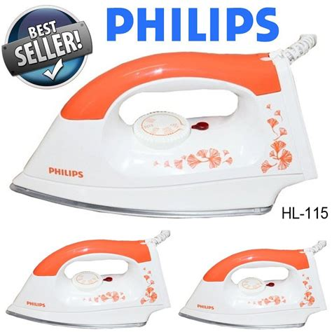 Iron Philips Hi 115 Strika Philips jual setrika philips cek harga di pricearea