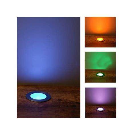 eclairage led multicolore kit 6 mini spots led encastrable rvb sur solairepratique