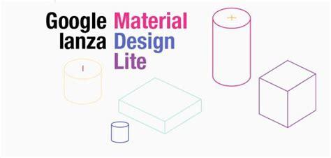 google design lite google material design lite para web