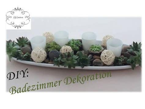 Badezimmer Dekorieren Selber Machen by Diy Badezimmer Dekoration Selber Machen Mit Sukkulenten
