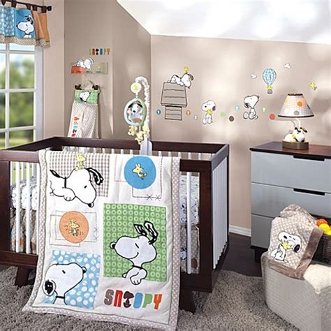 snoopy crib bedding lambs ivy 174 bff snoopy crib bedding collection buybuy baby