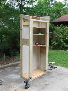 Handyman amp tools we built a small auxiliary tool shed 1 by cedar18