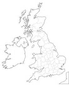 Britain Counties Outline Map by It S Thanksgiving So We Asked Brits To Label The States So Sorry America