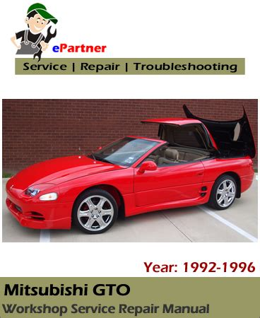small engine maintenance and repair 1992 mitsubishi gto interior lighting mitsubishi gto service repair manual 1992 1996 automotive service repair manual