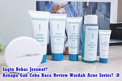 tutorial wardah acne series kataemak com