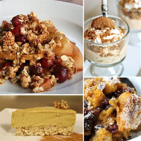 healthy thanksgiving dessert recipes popsugar fitness