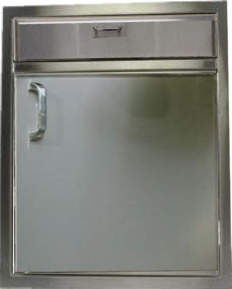 Stainless Steel Bbq Doors by Pcm Bbq Island 21 226 1 Door 1 Drawer Counter Combo