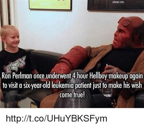 Leukemia Meme - 25 best memes about ron perlman ron perlman memes
