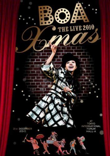 Boa Boa Boa The Live 2009 X by Dvd Boa Boa The Live 2010 X 2011 05 04発売 Dvd情報