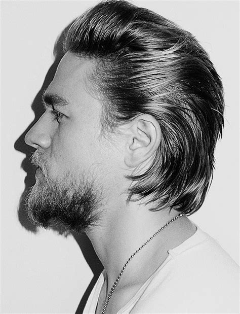 getting a jax teller hairstyle charlie hunnam amazing hair and beard my style