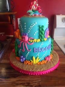 little mermaid cake cakes i ve made pinterest birthdays little mermaid cakes and 4th