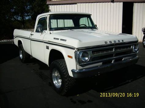 old dodge truck 4x4 gallery find used 1970 dodge pickup 3 4 ton 4x4 big window
