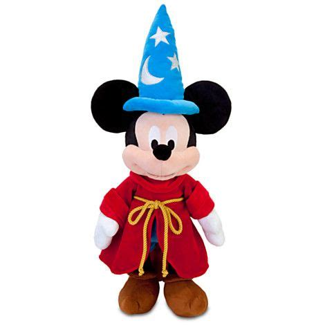 Cco 07 B Minnie Mouse sorcerer mickey mouse plush mickey mouse club anything can happen day 24 plush disney