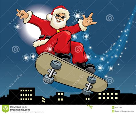 The Most Listable Time Of The Year Part Two The Click Santa Claus Skateboard