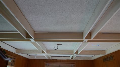 Coffered Ceiling Beams Poplar Coffered Ceiling Probuilt Woodworking