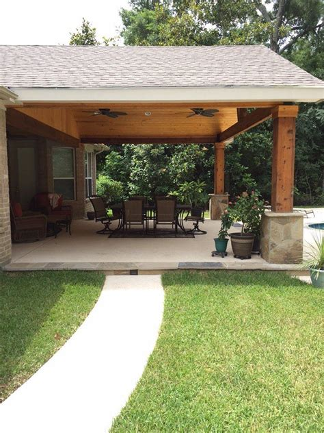 gable patio designs backyard paradise magnolia tx united states gable