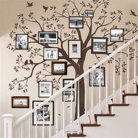 tree wall decals staircase family tree wall decal tree wall decal
