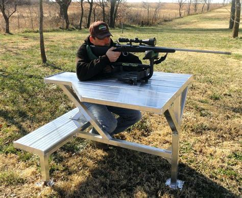 diy bench rest for target shooting homemade portable shooting bench amarillobrewing co