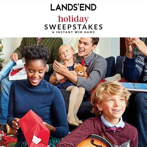 lands end sweepstakes enter at landsend com holidaysweepstakes to win - Lands End Holiday Sweepstakes
