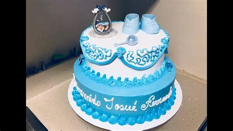 tutorial de decoraci n de tortas c mo hacer una torta como decorar pastel de dos pisos para baby shower youtube