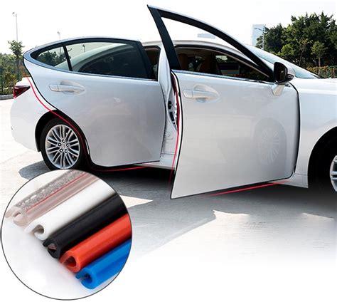 Anti Gores Gagang Pintu Mobil Untuk Audi Toyota Honda Volkswagen rubber dekorasi pintu mobil anti collision 5m
