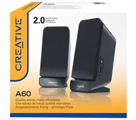 Speaker Aktif Creative Sbs A60 creative labs a60 2 0 pc speakers deals pc world