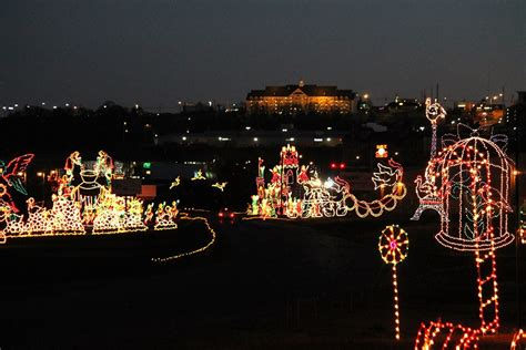 branson area festival of lights branson ticket travel