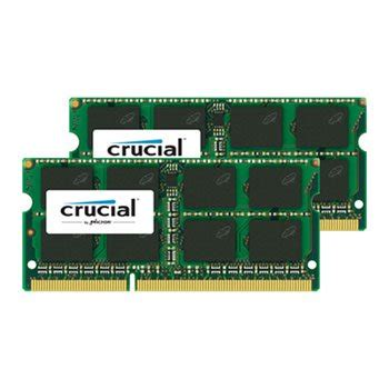 ram memory 16gb crucial 16gb 8gbx2 1600mhz ddr3 sodimm all laptops