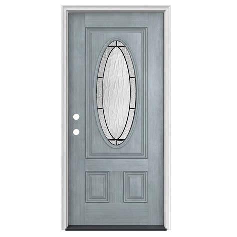 glass door wendover jeld wen 36 in x 80 in 3 4 oval lite wendover