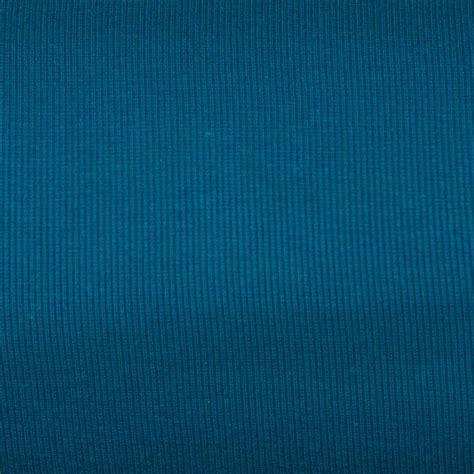 tissu tubulaire bord cote maille bleu petrole tissus price