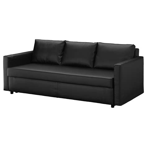 Sofa Bed Black by Friheten Three Seat Sofa Bed Bomstad Black