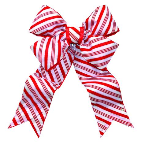 outdoor candycane ribbon structural bow commercial supply commercial decorations for