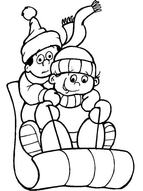imagenes de las vacaciones para colorear maestra de infantil el invierno dibujos para colorear
