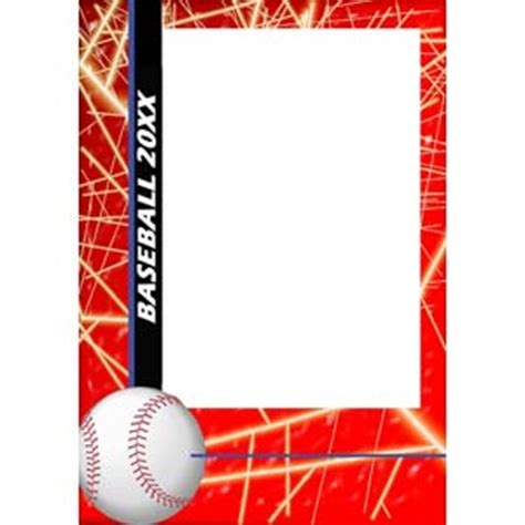 baseball player card template baseball card template trading card template