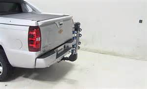 chevrolet avalanche thule apex 4 bike rack for 1 1 4 quot and 2 quot hitches tilting