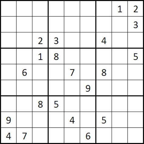 Grille Sudoku by Grille Sudoku Plus Difficile Monde