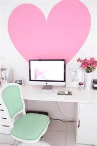 Pretty Desk Chairs Design Ideas 17 White And Pink Office Ideas For