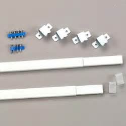 flat sash curtain rod flat sash steel curtain rods by kirsch in 3 sizes
