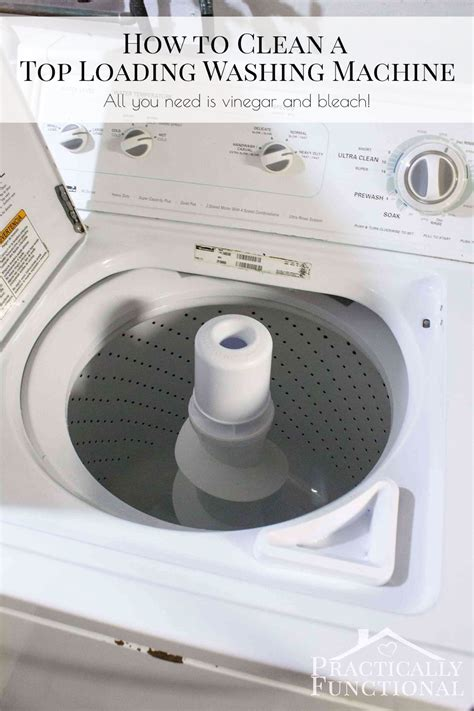 how to clean a washing machine cleaning the inside of how to clean a top loading washing machine with vinegar