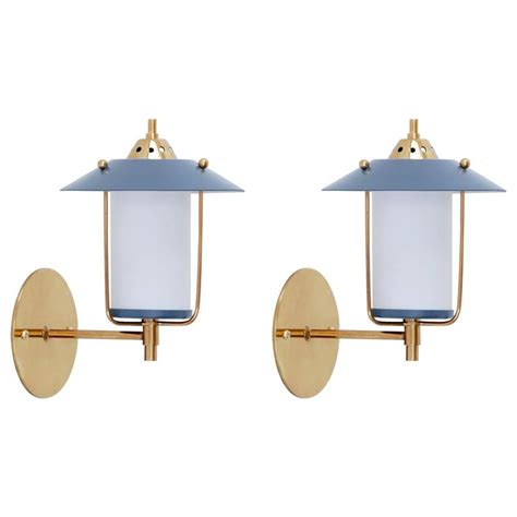 Mid Century Outdoor Lighting Fixtures Italian Mid Century Indoor Outdoor Sconces At 1stdibs