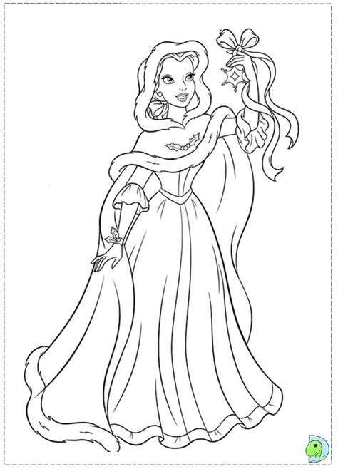 coloring pages christmas princess free coloring pages of christmas princess
