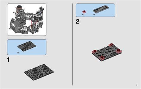 Lego Star Wars Darth Vader Transformation Instructions